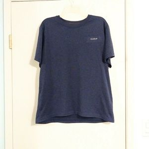 Reebok Navy Short Sleeve Athletic Shirt